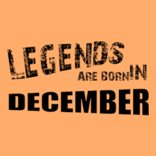 Legends are Born in December legends-are-born-in-December%A% T-Shirt