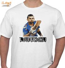 Virat Kohli love-you-kohli T-Shirt