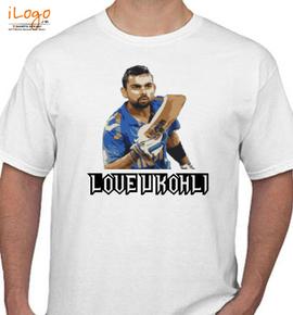 love-you-kohli - T-Shirt