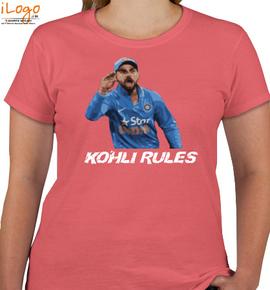 KOHLI-RULES - T-Shirt [F]