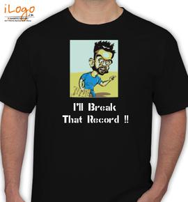 Record-Kohli - T-Shirt