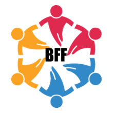colorful-friends-circle T-Shirt