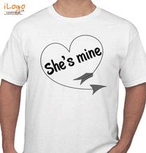 Couple she%s-mine T-Shirt