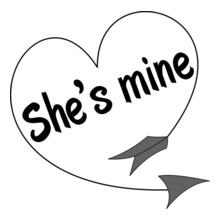 she%s-mine T-Shirt