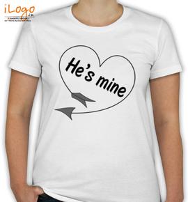 he%s-mine - T-Shirt [F]