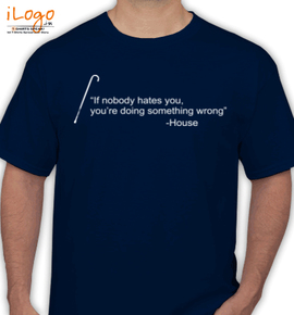 House-Quote - T-Shirt