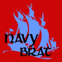 NAVY-BRAT T-Shirt