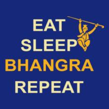 eat-sleep-bangra-repeat T-Shirt