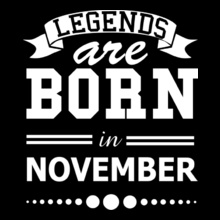 Legends are Born in November LEGENDS-BORN-IN-november../ T-Shirt
