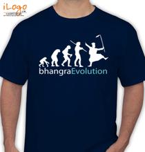 Punjab bhangraEvolution T-Shirt