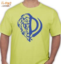 Punjab HALF-FACE-LION T-Shirt