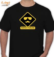 Punjab square-face-sardar. T-Shirt