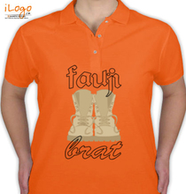Army Brat fauji-brat-with-shoes T-Shirt