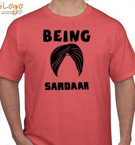 being sardar. - T-Shirt
