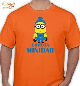 chhota minidar. - T-Shirt