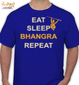 bhangra repeat - T-Shirt