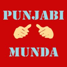 Punjabi punjabi-munda. T-Shirt