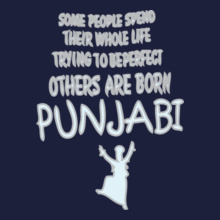 smart-born-punjabi T-Shirt