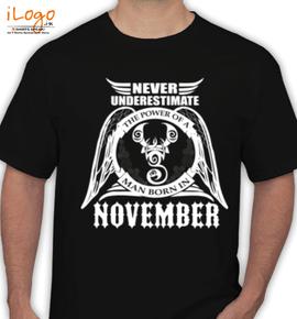 LEGENDS-BORN-IN-November%A - T-Shirt