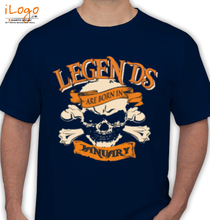 Legends are Born in January LEGENDS-BORN-IN-january%A T-Shirt