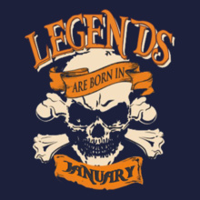 2cdca4bcd legends-are-born-in-january T-Shirts | Buy legends-are-born-in ...