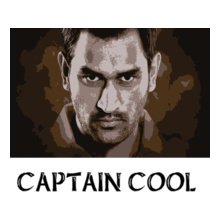 MS Dhoni Captain-cool T-Shirt