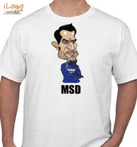 Captain-Dhoni - T-Shirt