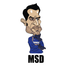 MS Dhoni Captain-Dhoni T-Shirt