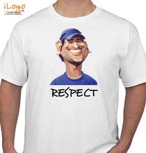 MS Dhoni RESPECT-MSD T-Shirt
