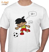 Couple football T-Shirt
