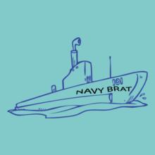 Navy Wife navy-boat T-Shirt