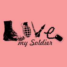 love-may-soldier T-Shirt