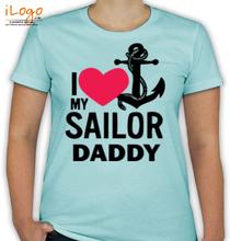 Naval Brat navy-daughter T-Shirt