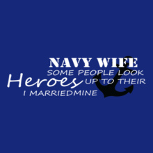 Navy Wife Navy-wife-hero T-Shirt