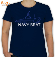 Naval Brat navy-brat-boat-in-white T-Shirt