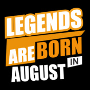 LEGENDS-BORN-IN-August