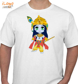 krishna holi - T-Shirt