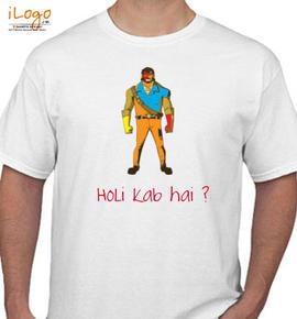 gabbar-holi - T-Shirt
