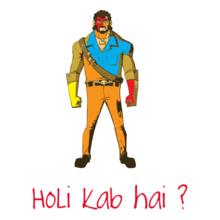 Holi gabbar-holi T-Shirt