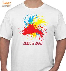 HAPPY-HOLI - T-Shirt