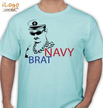 Naval Brat navy-brat-with-sailor T-Shirt