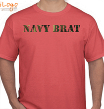Naval Brat navy-brat-in-army-texture T-Shirt