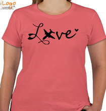 Air Force Wife love-with-plain T-Shirt