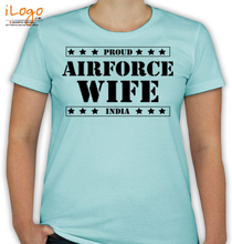 Air Force Wife indian-air-force-wife. T-Shirt