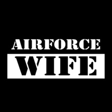 Air Force Wife air-force-wife-simple T-Shirt