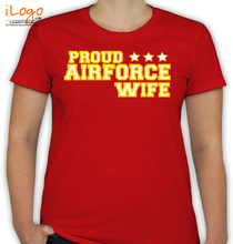 Air Force Wife proud-wife-airforce T-Shirt