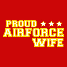 proud-wife-airforce T-Shirt