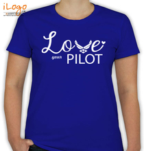 Air Force Wife love-ur-pilot T-Shirt