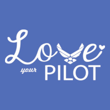 Air Force Wife love-ur-pilot T-Shirt