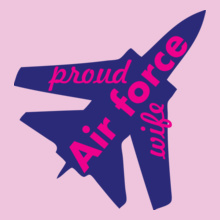 proud-wife-of-airforce T-Shirt